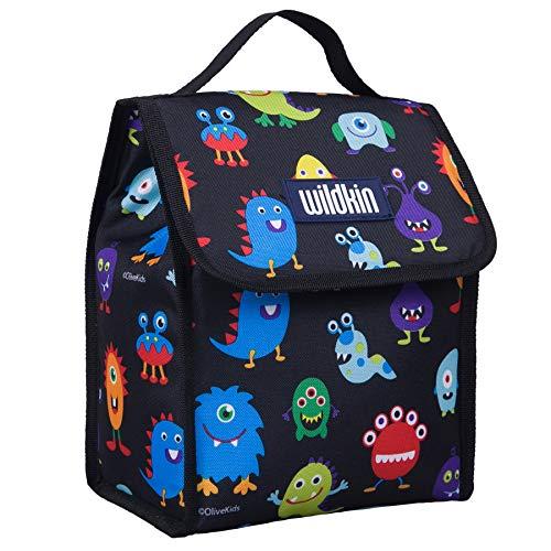 Wildkin Lunch Bag, Monsters