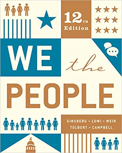 We The People Twelfth Edition Kindle Edition By Benjamin