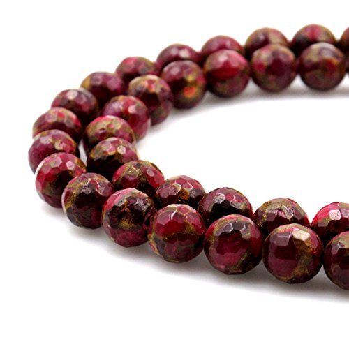BRCbeads Gorgeous Synthetic Faceted Gemstone