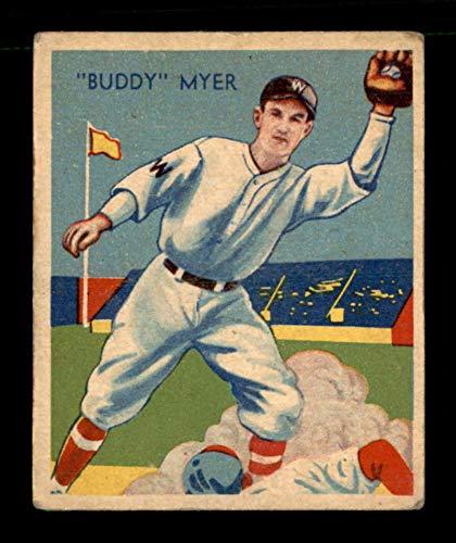 (1934 Diamond Stars #4 Buddy Myer VGEX X1706558)