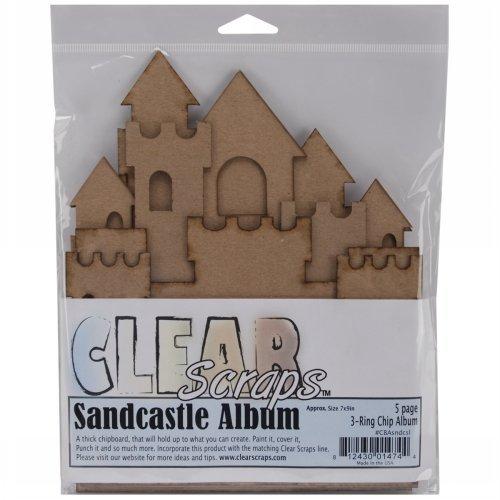 Castle Chipboard (Bulk Buy: Clear Scraps Sandcastle Chipboard Album 7
