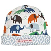 Magnificent Baby Baby-Boys Newborn Reversible Cozy Cap, Elephant/Marrakesh, One Size