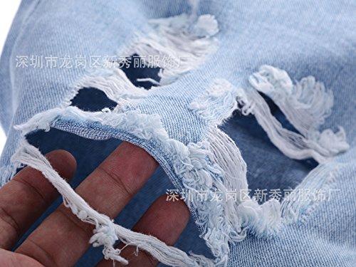 Azul Vaqueros Claro Para Tiger~baby Mujer qp7x7w
