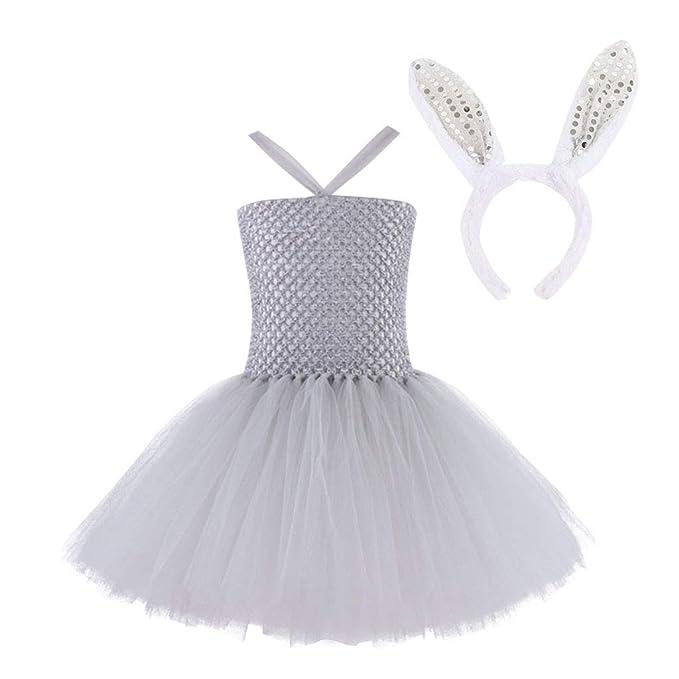 Niña Tutu Vestido con Venda 2 Piezas Princesa Cumpleaños ...