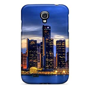 Fashionable Style Case Cover Skin For Galaxy S4- Detroit