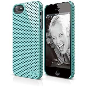 iPhone SE case, elago [Breathe][Coral Blue] - [Heat Reduction][Minimalistic][True Fit] - for iPhone SE/5/5S
