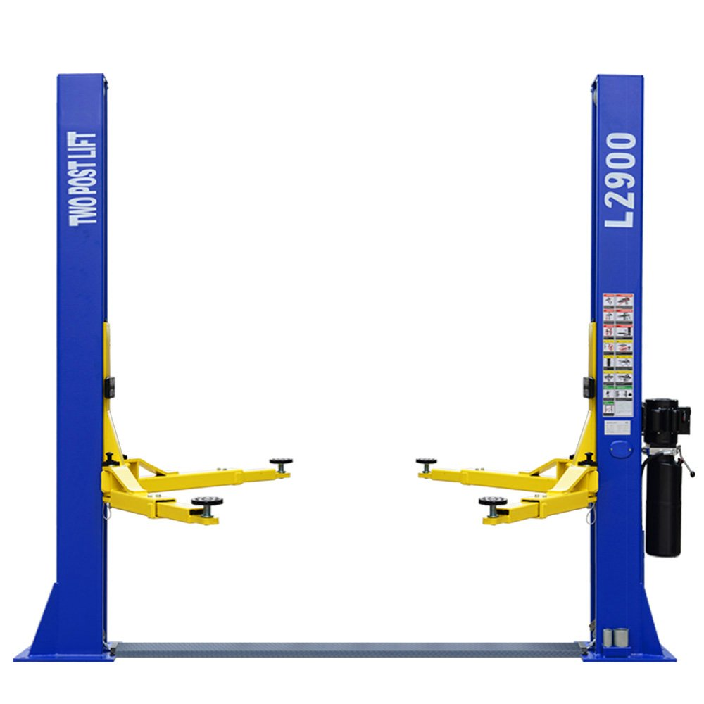 L2900 Car Lift 9,000 LB 2 Post Lift Car Auto Truck Hoist w/ 12 Month Warranty 220V