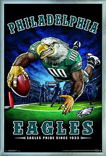 Trends International Philadelphia Eagles - End Zone 17 Wall Poster 24.25