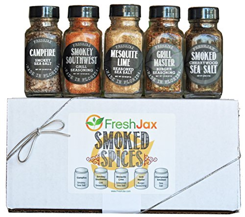 - FreshJax Smoked Spices Gift Set, (Set of 5)