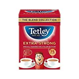 Tetley Extra Strong Tea Bags 75 per pack - Pack of 4