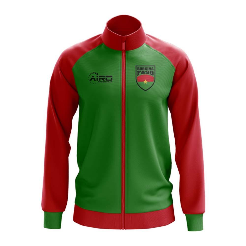 Airo Sportswear Burkina Faso Concept Football Track Jacket (Grün)