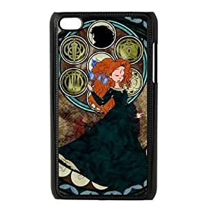 ipod 4 Black phone case merida Best Xmas Gift for Girlfriend UGD8022424