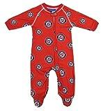Washington Nationals Baby Footed Sleeper Pajamas - Red
