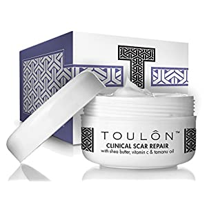 Scar Removal Cream to Best Remove Old & New Scars with Shea Butter, Vitamin C & E and Tamanu Oil; Free Gift/No Risk