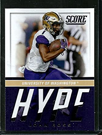 6bdc3b45 Amazon.com: Football NFL 2017 Score Hype #8 John Ross: Collectibles ...