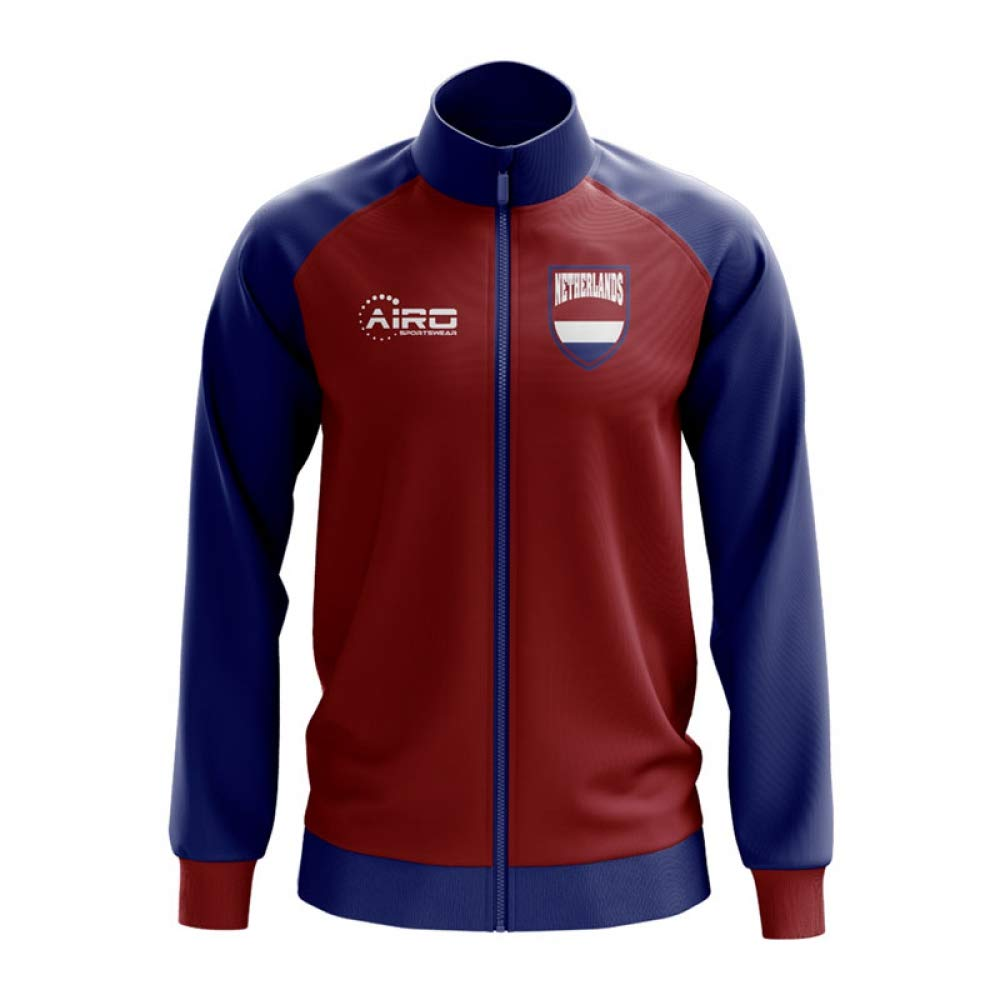 Airo Sportswear Netherlands Concept Football Track Jacket (ROT)