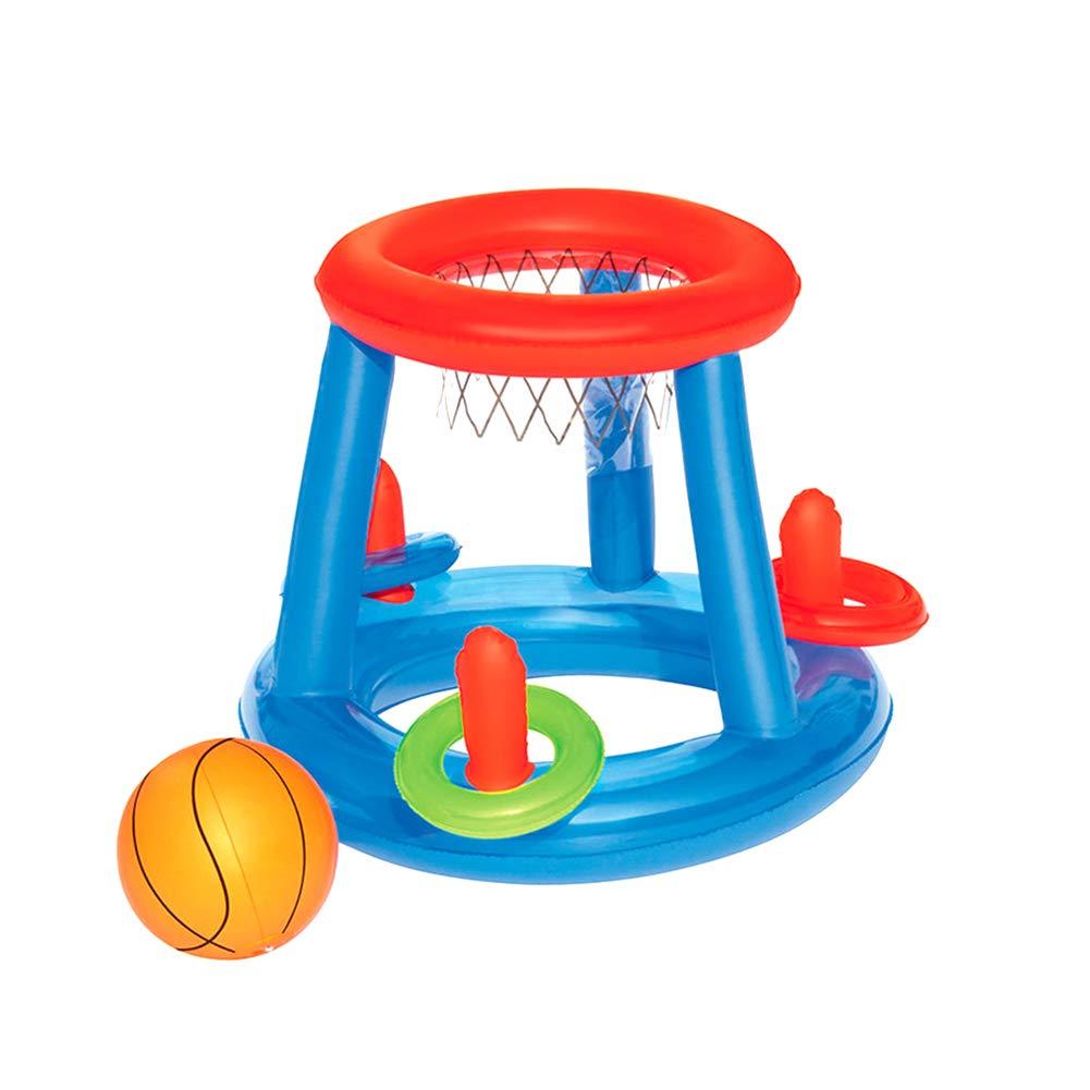 Piscina inflable flotador de agua de juguete de baloncesto ...