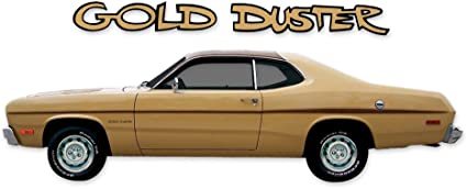 1971 1972 1973 1974 Plymouth Gold Duster Side Stripes Kit