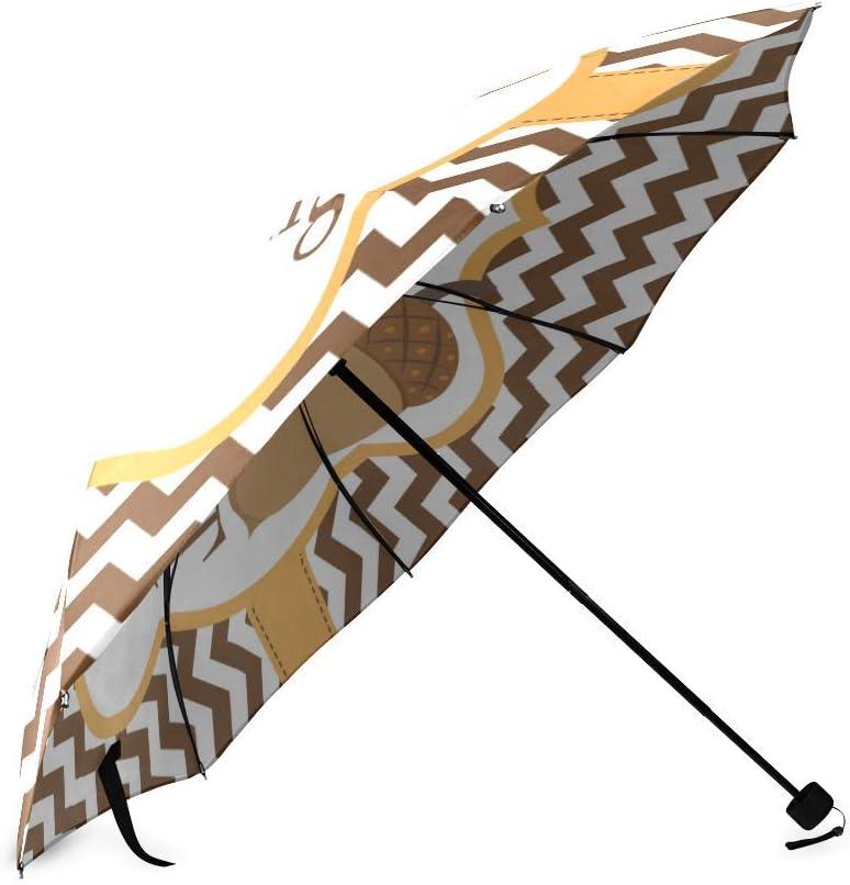 Thanksgiving Day Gifts Foldable Rain Umbrella Compact Parasol//Sun Umbrella