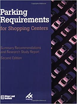 Parking Requirements for Shopping Centers