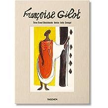 Françoise Gilot.  Sketchbooks - Venise, India, Senegal