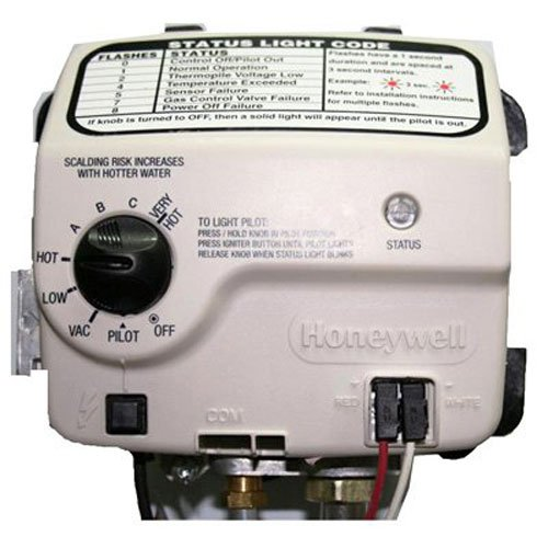 RELIANCE WATER HEATER CO 9007884005 Honey Electronic Gas Valve (Water Heater Whirlpool)