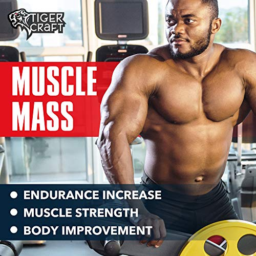 Testosterone Booster for Men - Men Testosterone for Health, Energy & Stamina - Made in USA - Male Testosterone Enhancement with Horny Goat Weed, Tongkat Ali- Muscle Mass Testosterone Supplement