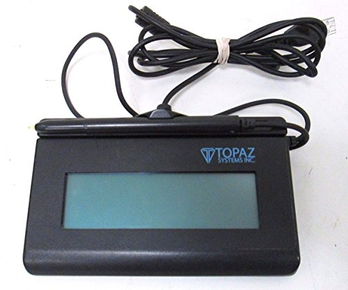Topaz T-LBK462-BSB-R SignatureGem 1X5 Backlit LCD Signature Capture Pad - USB/Virtual Serial. by Topaz Systems