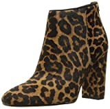 Sam Edelman Women's Cambell Ankle Bootie, Brown/Black Leopard, 8.5 M US