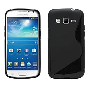 Sleek Gadgets® - Funda Gel Negra Línea S Para Samsung Galaxy Express 2 SM-G3815