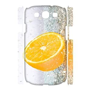 VNCASE Orange Phone Case For Samsung Galaxy S3 I9300 [Pattern-1]