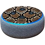 MightySkins Skin for Amazon Echo Dot (3rd Gen) - Rattler | Protective, Durable, and Unique Vinyl Decal wrap Cover | Easy to Apply, Remove, and Change Styles | Made in The USA