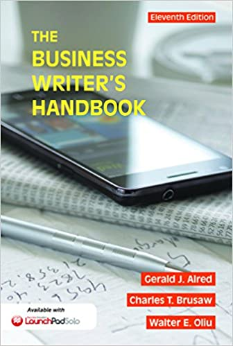 Amazon the business writers handbook business writers the business writers handbook business writers handbook 11th edition kindle edition fandeluxe Images