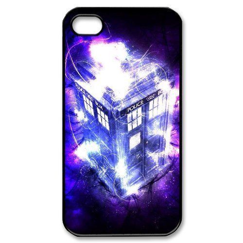 LIUMINGGUANG Phone case Style-15 -TV Show Doctor Who Pattern Protective Case For Iphone 4 4S case cover