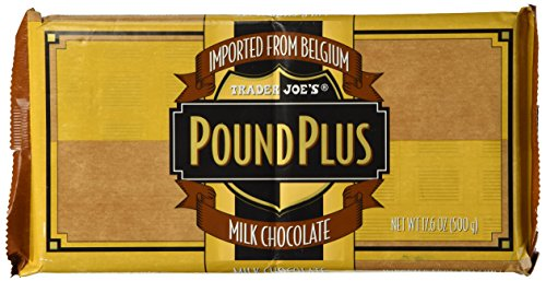 - Trader Joe's Pound Plus Milk Chocolate 17.6 oz.