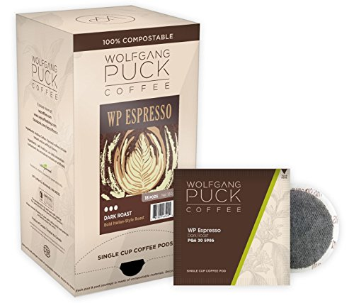 (Wolfgang Puck 54 Dark Roast Coffee Pod Variety Assortment)