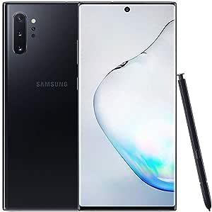 Samsung Galaxy Note 10+ Plus 5G SM-N976 / 256GB / Factory Unlocked - Korea Manufactured International Version (Aura Black) (Renewed)