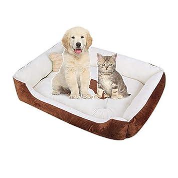 poetryer Cama para Perros, Cama Gato Nido para Mascotas Cama de Perro Cálido Nido Algodón, Dog Cave Bed Máquina Lavable para Perros pequeños y medianos ...