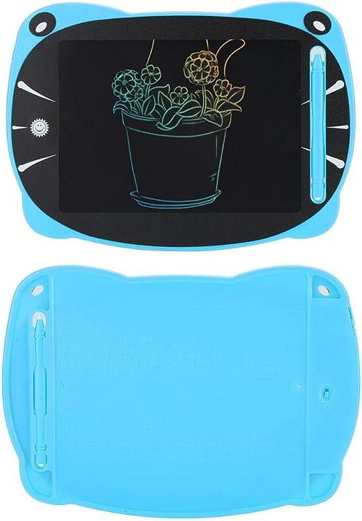 子供用算数ギフトを描くための手描きタブレット、LCDライティングタブレット付き手書きパッド(blue)