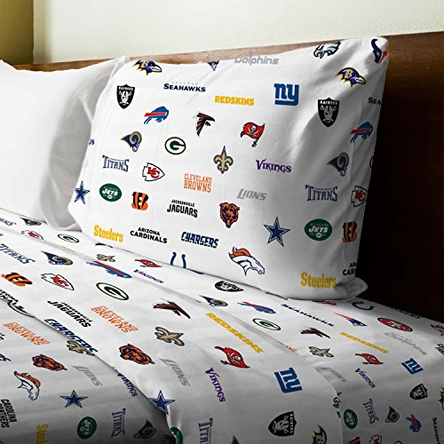 San Diego Chargers Bedding Sets: All NFL Sheet Sets Price Compare