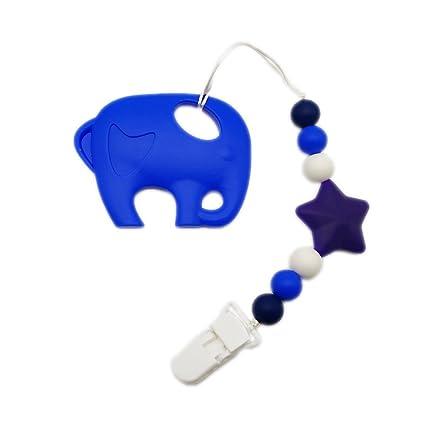 INCHANTY bebé neutral de silicona juguete de la dentición y ...