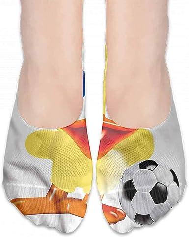 Cute Duck Socks with Ribbon