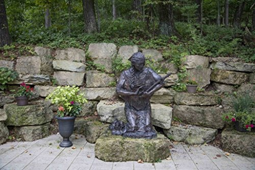 (Photograph | Bronze statue of Saint Kateri Tekakwitha, Lily of the Mohawks, by artist Cynthia Hitschler, at the Shrine of Our Lady of Guadalupe in La Crosse, Wisconsin 36in x 24in)