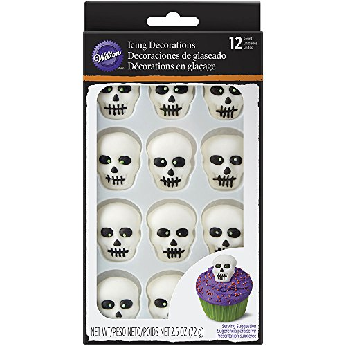 Wilton Skeleton Icing Decorations, 12-count -