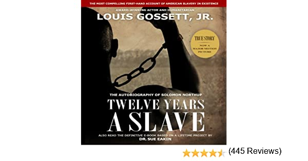 twelve years a slave (Annotated)