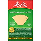Melitta #2 Cone Coffee Filters, Natural Brown, 40