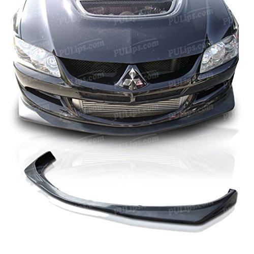 PULips(MSEV03VARFAD) V-Spec Style Front Bumper Lip For Mitsubishi Evolution 2003-2005
