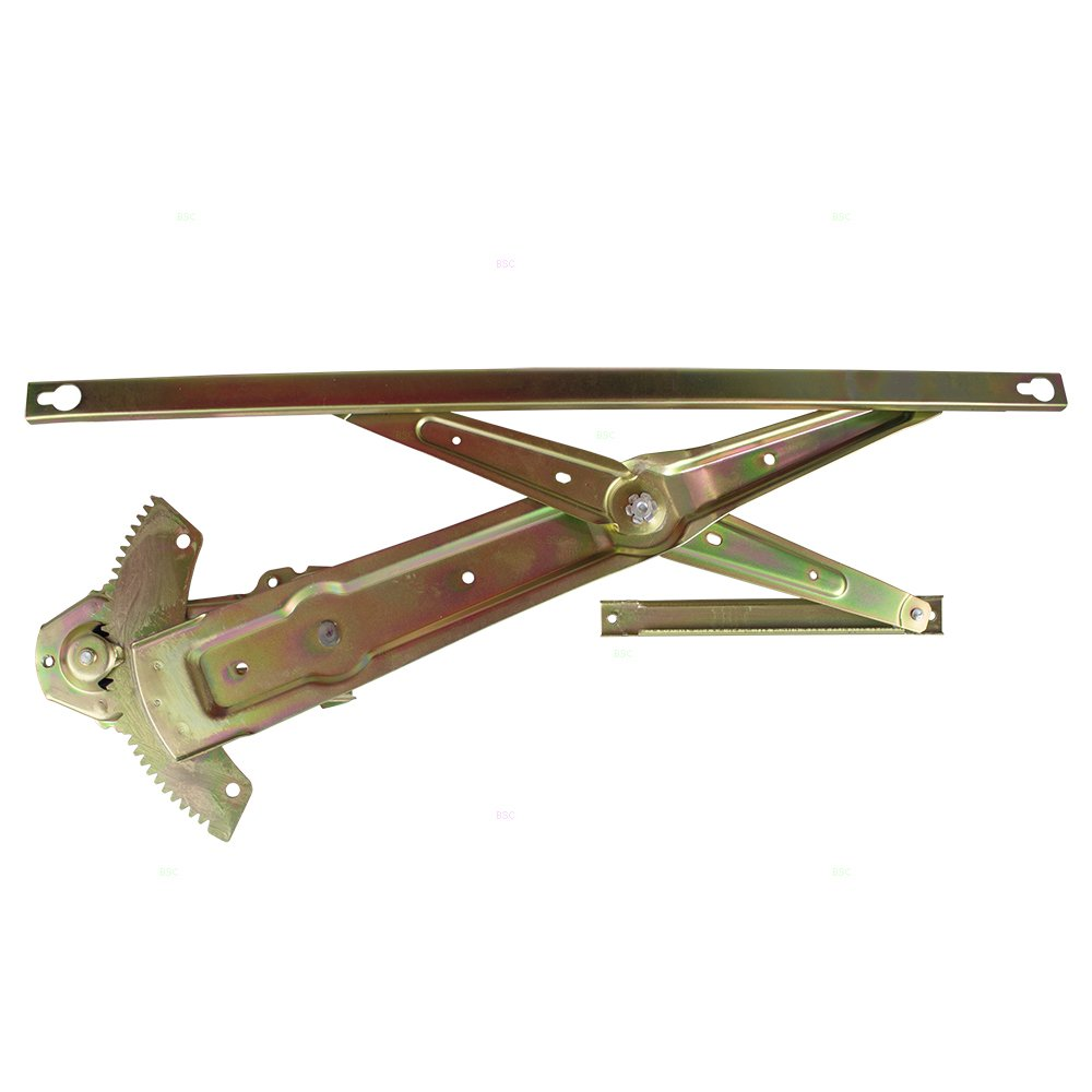 Drivers Front Manual Window Lift Regulator Replacement for Honda Civic Coupe /& Hatchback 72250-SR3-003