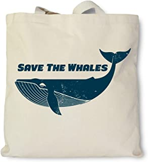 product image for Hank Player U.S.A. Save The Whales Tote Bag