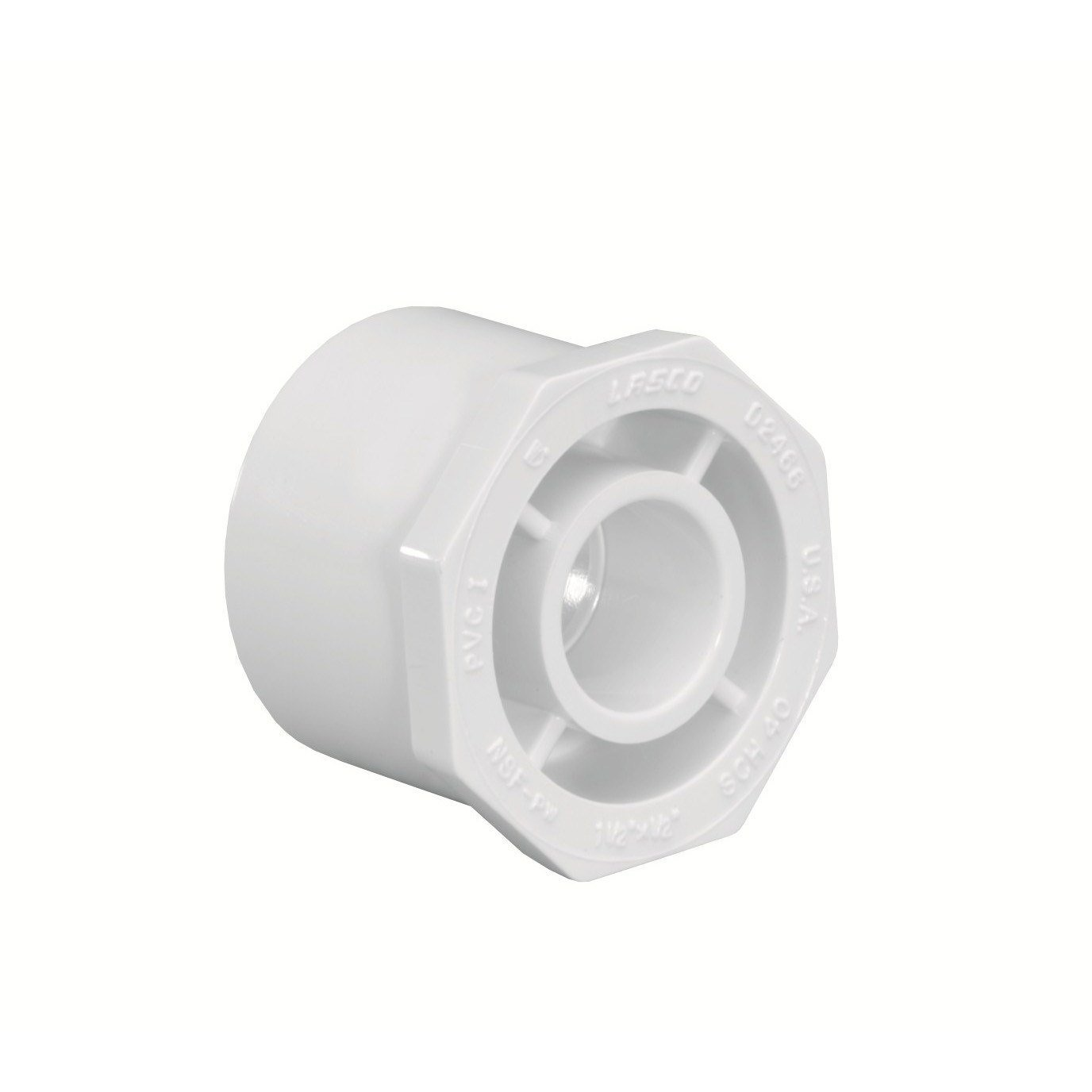 Schedule 40 SP x Slip Reducer Bushing by LASCO (Image #1)